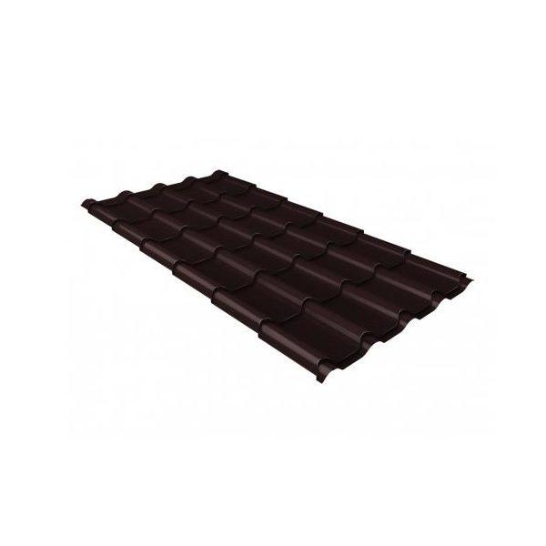 камея 0,5 Quarzit lite RAL 8017 шоколад