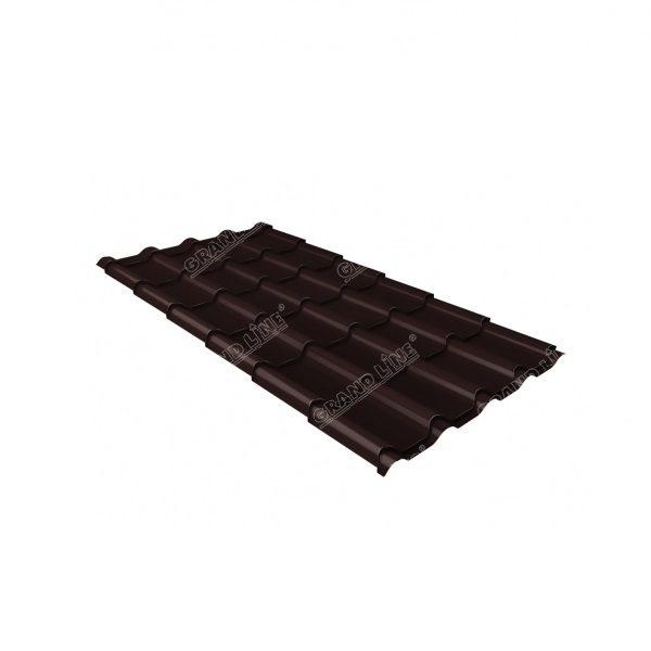 камея 0,5 Quarzit Pro Matt RAL 8017 шоколад