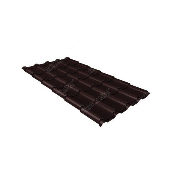 камея 0,5 Quarzit RAL 8017 шоколад Metallic
