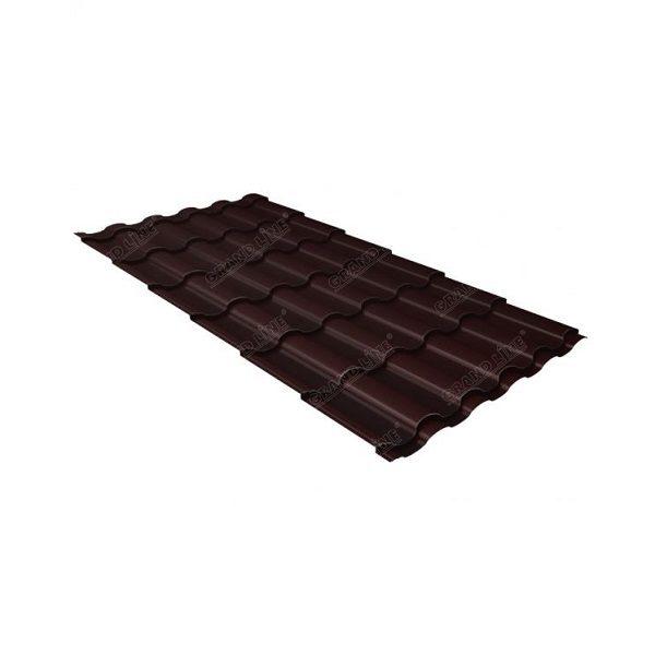кредо 0,45 PE-matt RAL 8017 шоколад
