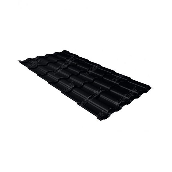 кредо 0,5 Satin Мatt RAL 9005 черный