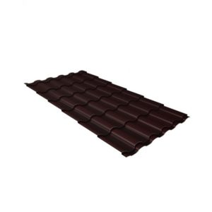 кредо 0,5 Satin RAL 8017 шоколад