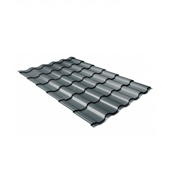 кредо 0,5 Стальной бархат RAL 7016 антрацитово-серый
