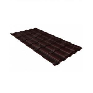 кредо 0,5 Стальной бархат RAL 8017 шоколад
