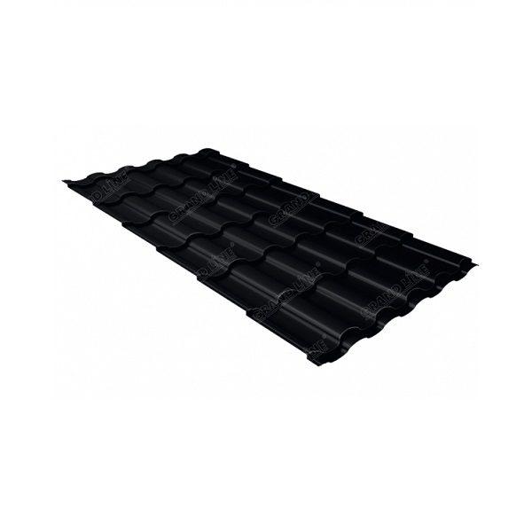 кредо 0,5 Стальной бархат RAL 9005 черный