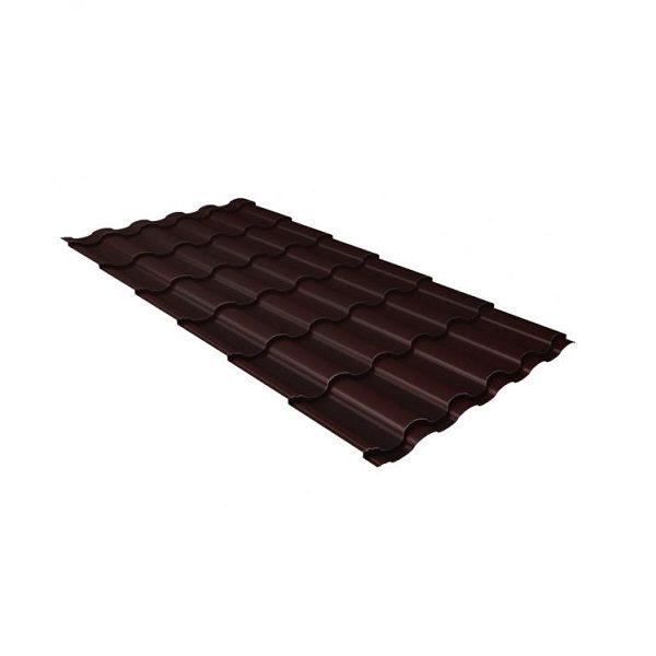 кредо 0,5 Quarzit lite RAL 8017 шоколад
