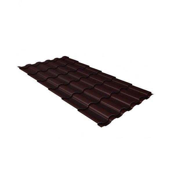 кредо 0,5 Quarzit RAL 8017 шоколад