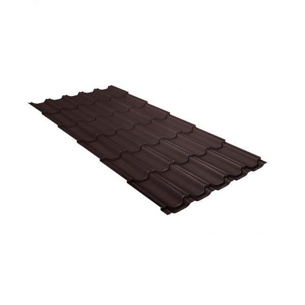 квинта плюс 0,45 PE RAL 8017 шоколад