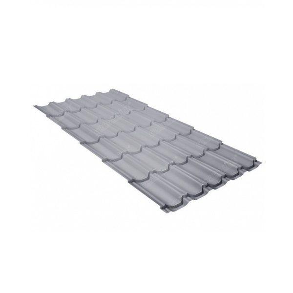 квинта плюс 0,45 PE RAL 9006 бело-алюминиевый