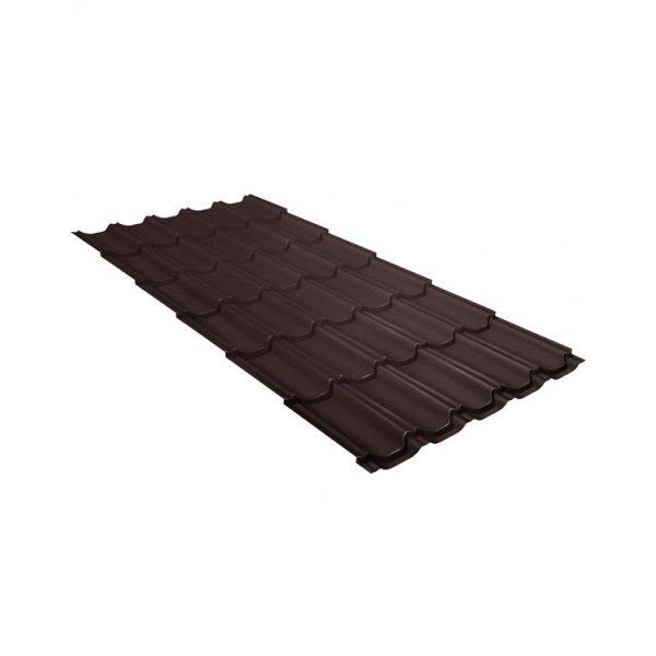 квинта плюс 0,5 Стальной бархат RAL 8017 шоколад