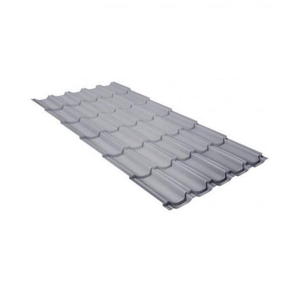 квинта плюс 0,5 Satin RAL 9006 бело-алюминиевый