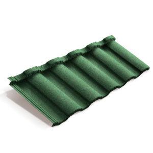 Композитная черепица Metrotile Metroroman цвет Зеленый