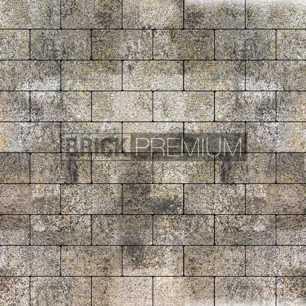 Тротуарная плитка Brick Premium Платцстоун Оникс гранит 45 мм
