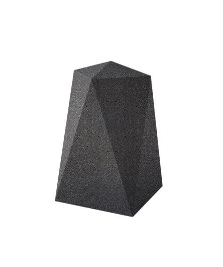 Ландшафтный элемент ВЫБОР ОП-1 Черный Мозаичный бетон