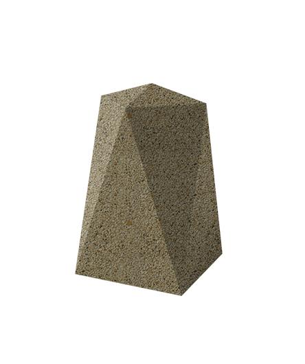Ландшафтный элемент ВЫБОР ОП-1 Медовый Мытый бетон