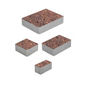 Тротуарные плиты ВЫБОР Листопад гладкий МЮНХЕН Б.2.Фсм.6 Осень- комплект из 4 плит