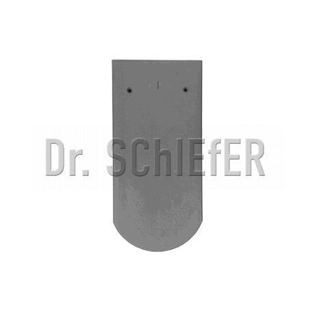 Керамическая рядовая черепица Meyer-Holsen Biber восстановительный обжиг черно-серый