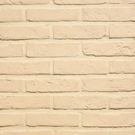 Кирпич облицовочный ручной формовки Terca Agora Wit Ivoor, 215*102*65 мм
