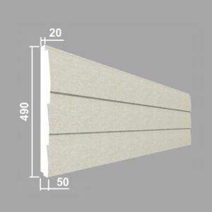 Панель стеновая Джем Декор ПС102-50