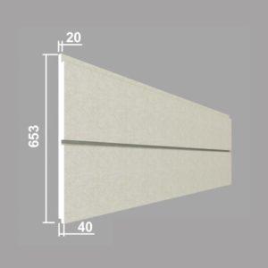Панель стеновая Джем Декор ПС109-40