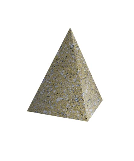 Ландшафтный элемент ВЫБОР ПИРАМИДА С пигментом Гранит