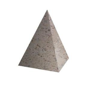 Ландшафтный элемент ВЫБОР ПИРАМИДА Серо-красный Мытый бетон
