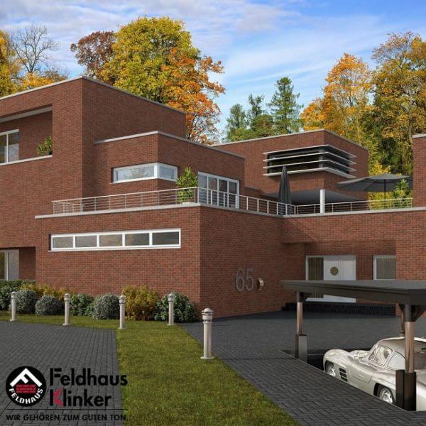 Клинкерная плитка Feldhaus Klinker Sintra R698 sintra terracotta bario