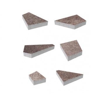 Тротуарные плиты ВЫБОР Искусственный камень ОРИГАМИ Б.4.Фсм.8 Плитняк- комплект из 6 плит