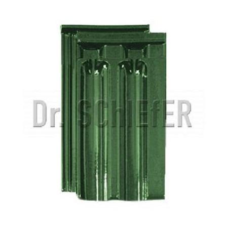 Керамическая рядовая черепица Meyer-Holsen Doppelfalzziegel маркато светло-зеленый