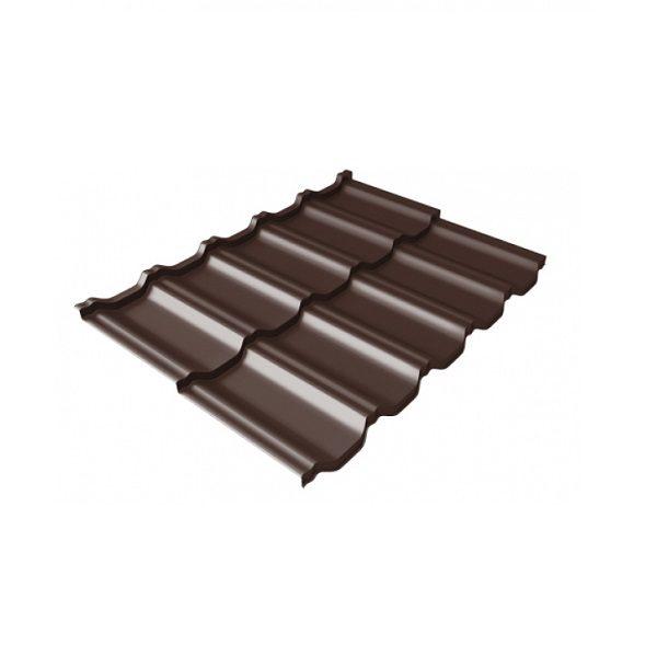 квинта Uno 0,5 Quarzit lite RAL 8017 шоколад