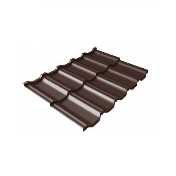 квинта Uno 0,5 Satin RAL 8017 шоколад