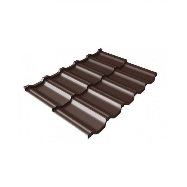 квинта Uno 0,5 Quarzit RAL 8017 шоколад