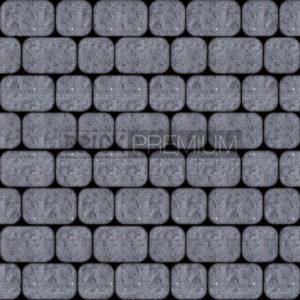 Тротуарная плитка Brick Premium Рундстоун Графит 45 мм