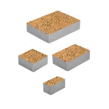 Тротуарные плиты ВЫБОР Листопад гранит МЮНХЕН Б.2.Фсм.6 Сахара- комплект из 4 плит