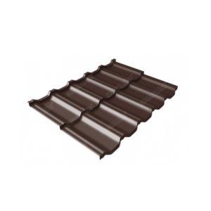 квинта Uno 0,5 Satin Мatt RAL 8017 шоколад