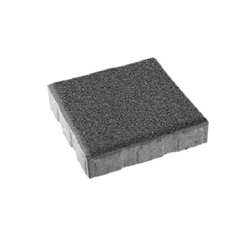 Тротуарная плитка ВЫБОР Стандарт КВАДРУМ Б.6.К.6 Серый