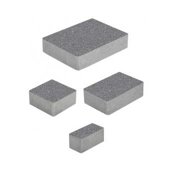 Тротуарные плиты ВЫБОР Стандарт МЮНХЕН Б.2.Фсм.6 Серый- комплект из 4 плит