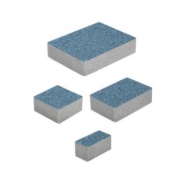 Тротуарные плиты ВЫБОР Гранит МЮНХЕН Б.2.Фсм.6 Синий- комплект из 4 плит
