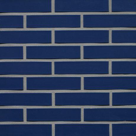 Кирпич облицовочный Terca Blauw Glazuur SP, 215*102*65 мм