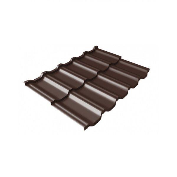 квинта Uno 0,5 Стальной бархат RAL 8017 шоколад