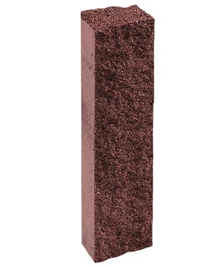 Ландшафтный элемент ВЫБОР ПАЛИСАД 1ПП 95.15.12-к 950*150*120 Стандарт колотая Красный