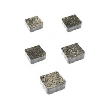 Тротуарные плиты ВЫБОР Листопад гладкий АНТИК Б.3.А.6 Старый замок- комплект из 5 плит