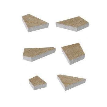 Тротуарные плиты ВЫБОР Искусственный камень ОРИГАМИ Б.4.Фсм.8 Степняк- комплект из 6 плит