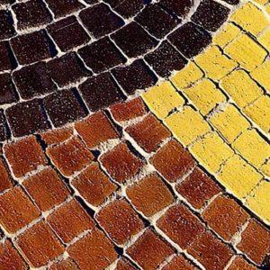 Тротуарная клинкерная брусчатка Westerwalder Klinker MK01 Mosaik