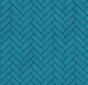 Тротуарная плитка ВЫБОР Гранит Паркет 180*60*60 мм Синий