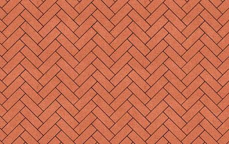 Тротуарная плитка ВЫБОР Гранит Паркет 360*80*80 мм Оранжевый