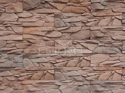 Искусственный камень Атлас Стоун Угольный пласт 018