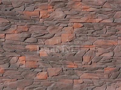 Искусственный камень Атлас Стоун Угольный пласт 044