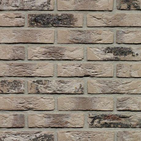 Кирпич облицовочный ручной формовки Terca Grijs Genuanceerd Gesinterd, 213*101*65 мм