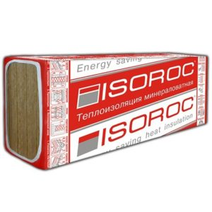Утеплитель Isoroc Изолайт 1200х600х50 мм